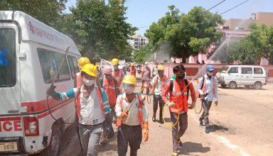 यूपी में विशेष सैनिटाइजेशन व सफाई अभियान में लगाए गए 21541 कर्मचारी