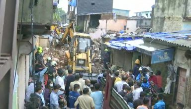 मानसून की पहली ही बारिश में दहला मुंबई, ढहा 4 मंजिला इमारत, 11 की मौत, 16 घायल