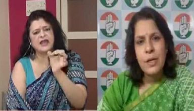 BJP प्रवक्ता संजू वर्मा ने लगाई कांग्रेस प्रवक्ता सुप्रिया श्रीनेत की क्लास, VIRAL हुआ VIDEO