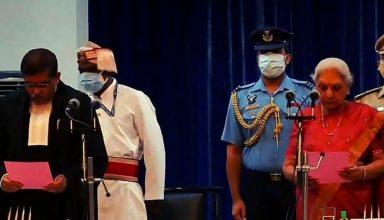 इलाहाबाद हाईकोर्ट के मुख्य न्यायाधीश बने जस्टिस संजय यादव, राज्यपाल ने दिलाई शपथ