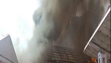 जम्मू-कश्मीर: माता वैष्णो देवी बोर्ड के पास कैश काउंटर में लगी आग, 2 लोग घायल