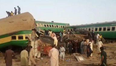 पाकिस्तान के घोटकी में बड़ा रेल हादसा, अब तक 30 लोगों की मौत, कई घायल