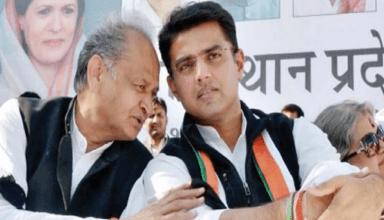 UP के बाद अब राजस्थान में भी सियासी संकट तेज, पायलट से मिलने उनके घर पहुंचे 8 विधायक