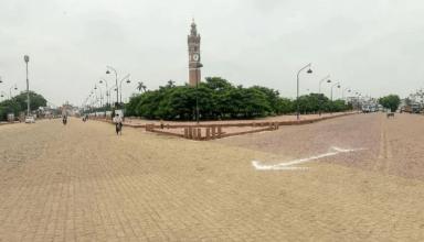 यूपी की राजधानी लखनऊ में 5 अगस्त तक बढ़ाई गई धारा 144, सार्वजनिक स्थल पर थूकने और मास्क नहीं पहनने पर होगी कार्रवाई