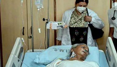 उत्तर प्रदेश के पूर्व मुख्यमंत्री कल्याण सिंह को हो रही सांस लेने में तकलीफ, दी गई ऑक्सीजन थेरेपी